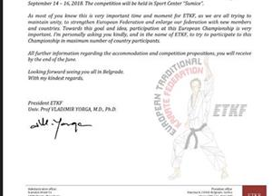 European Traditional Karate Federation ETKF